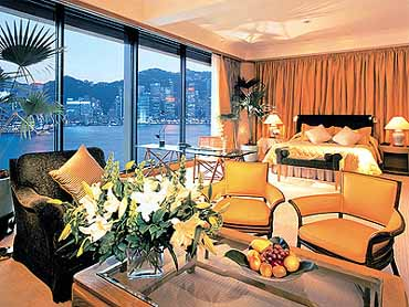 Guest Accommodations at the Hotel Inter-Continental of Hong Kong